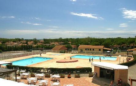piscines de la résidence horizon bleu à valras plage