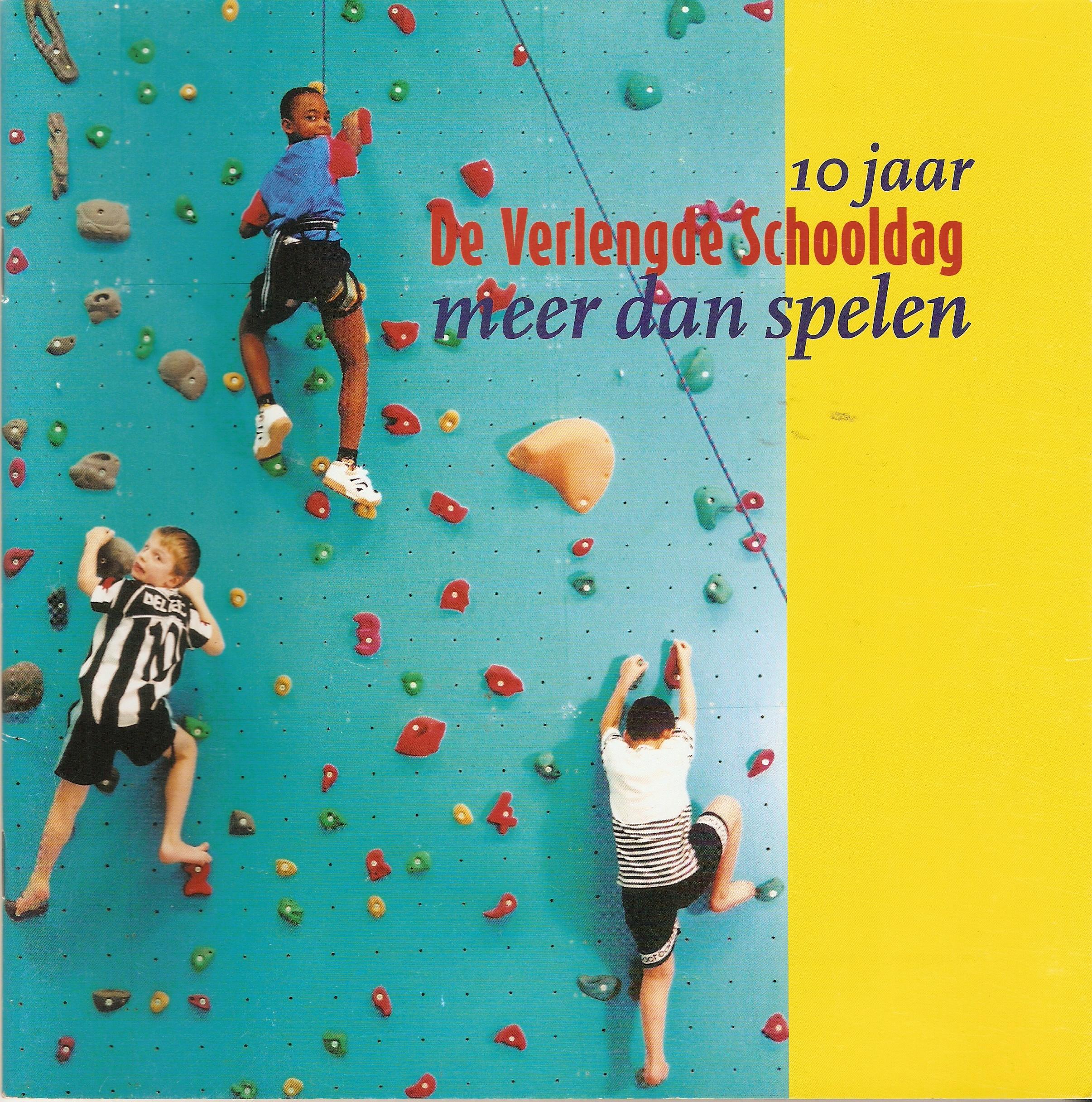 Cover Verlengde Schooldag