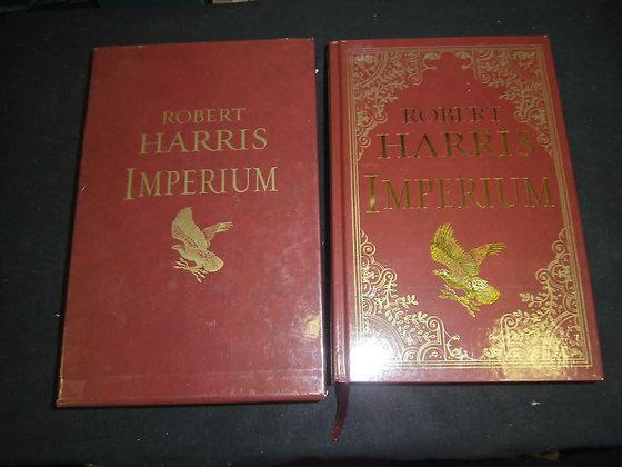 Robert Harris Imperium Slipcase signed