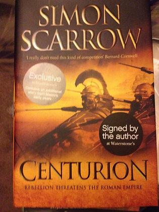 Simon Scarrow Centurion Signed 1st HB