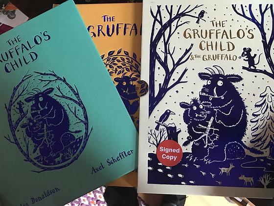 Julian Donaldson: Gruffalo/ Gruffalo Child Signed