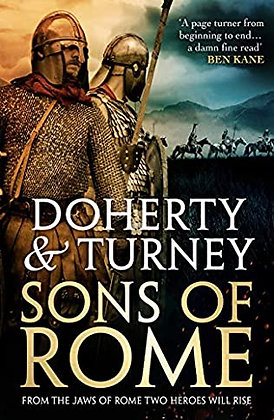 *Sons of Rome* Pre-Order* Signed Limited SJ Turney & G Doherty
