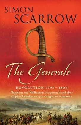 Simon Scarrow Generals Signed + Stamp