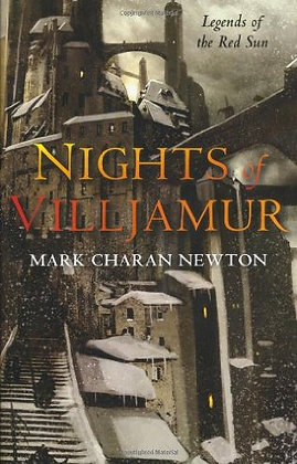Mark Charan Newton Nights of Villjamur  Signed Ltd