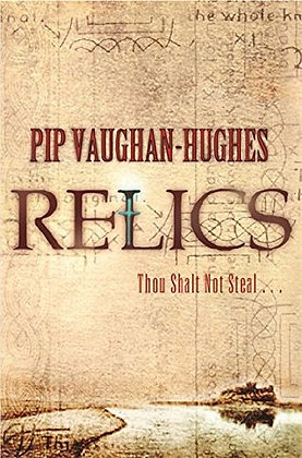 Pip Vaughan-Hughes: Relics signed 1st HB