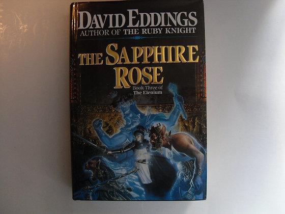 David Eddings: Sapphire Rose US signed 1st HB