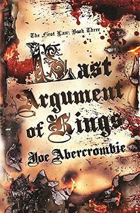 Joe Abercrombie Last Argument of Kings signed 1st
