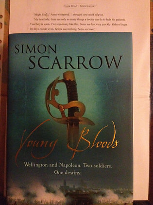 Simon Scarrow Young Bloods Signed Limited HB