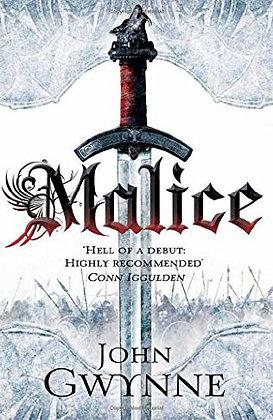 John Gwynne Malice Signed Hb