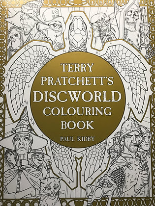 Terry Pratchett Diskworld Colouring book