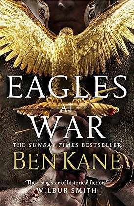 Ben Kane Eagles at War signed Limited edition