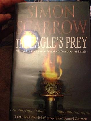 Simon Scarrow Eagles Prey Signed 1st HB