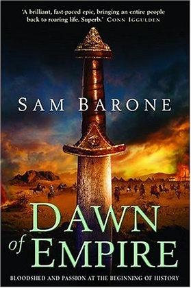 Sam Barone: Dawn of Empire Signed 1st HB