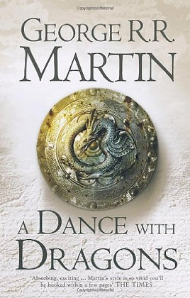 George R Martin Dance with Dragons Signed 1st HB
