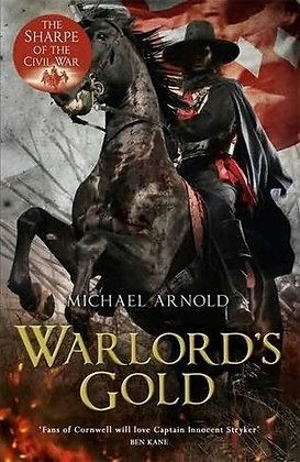 Michael Arnold Warlords Gold Signed Ltd HB