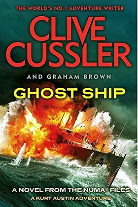 Clive Cussler Ghost Ship (US Proof)