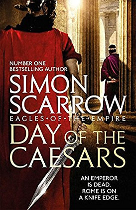 Simon Scarrow: Day of the Caesars Signed CE