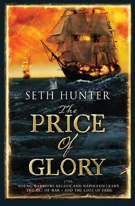 Seth Hunter: Price of Glory Signed 1st