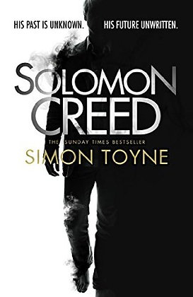 Simon Toyne: Solomon Creed Signed 1st HB