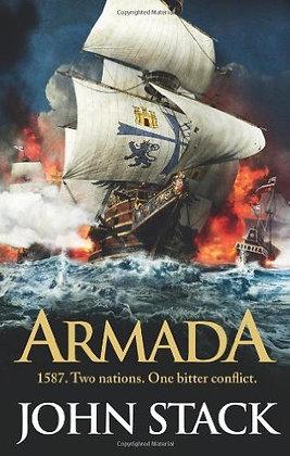 John Stack: Armada Signed 1st HB