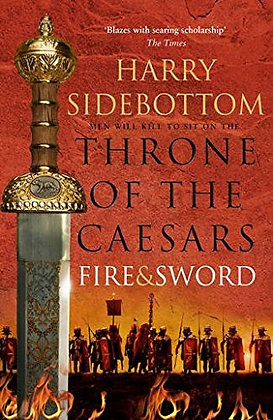 Harry Sidebottom Fire and Sword Signed Lined dated