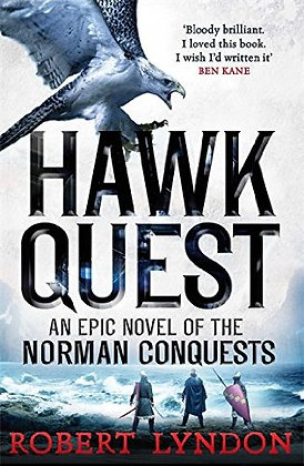 Robert Lyndon Hawk Quest Signed 1st HB