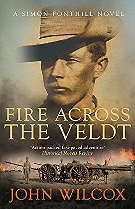 John Wilcox: Fire across the Veldt Signed + Dated