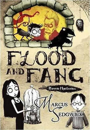Marcus Sedgwick: Flood and Fang signed 1st