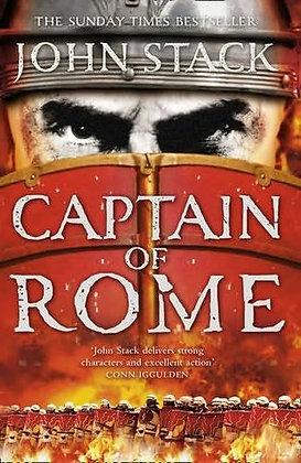 John Stack: Captain of Rome Signed 1st HB