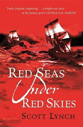 Scott Lynch Red Seas under Red Skies UK signed 1st