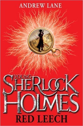 Andrew Lane: Young Sherlock: Red Leech Ltd signed