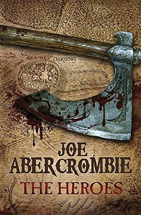 Joe Abercrombie: The Heroes signed 1st HB