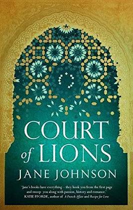 Jane Johnson: Court of Lions signed Ltd