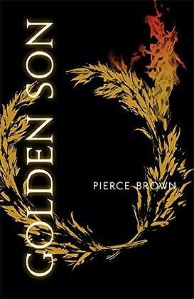 Pierce Brown: Golden Son Signed US 1st HB
