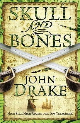 John Drake: Skull and Bones signed 1st HB