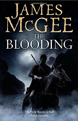 James McGee The Blooding signed 1st HB