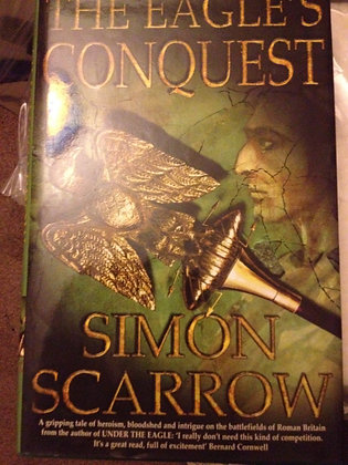 Simon Scarrow Eagles Conquest Signed 1st HB