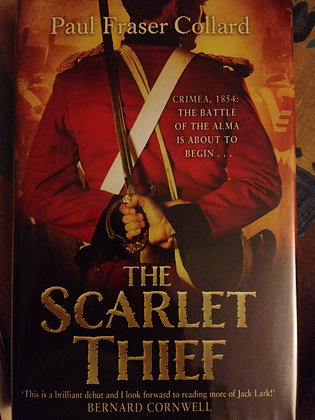 Paul Fraser Collard Scarlet Thief Signed 1st HB