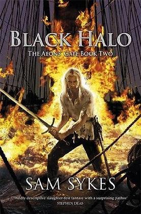 Sam Sykes: Black Halo signed 1st HB
