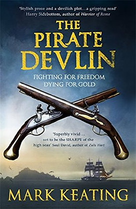 Mark Keating: The Pirate Devlin Signed 1st HB