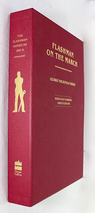 George MacDonald Fraser signed slipcase ltd