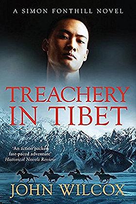 John Wilcox Treachery in Tibet Signed