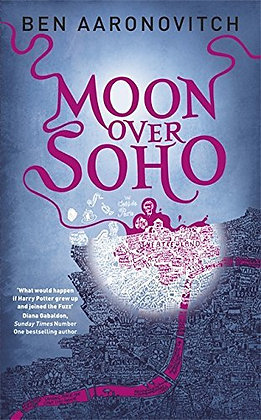 Ban Aaronovitch: Moon over Soho signed 1st HB