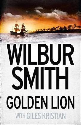 Wilbur Smith: Golden Lion Signed / Ink Stamp