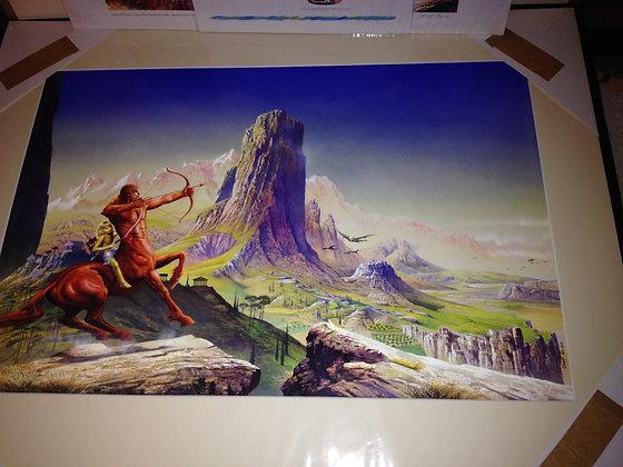 David Gemmell Dark Prince original Artwork