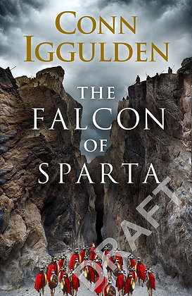 Conn Iggulden: Falcon of Sparta Limited Signed