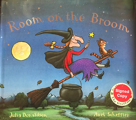 Julia Donaldson: Room on a broom Signed