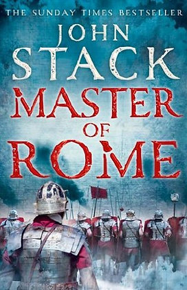 John Stack: Master of Rome Signed 1st HB
