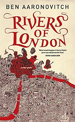 Ben Aaronovitch: Rivers of London Signed 1st HB