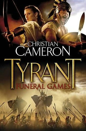 Christian Cameron Funeral Games Signed Ltd HB
